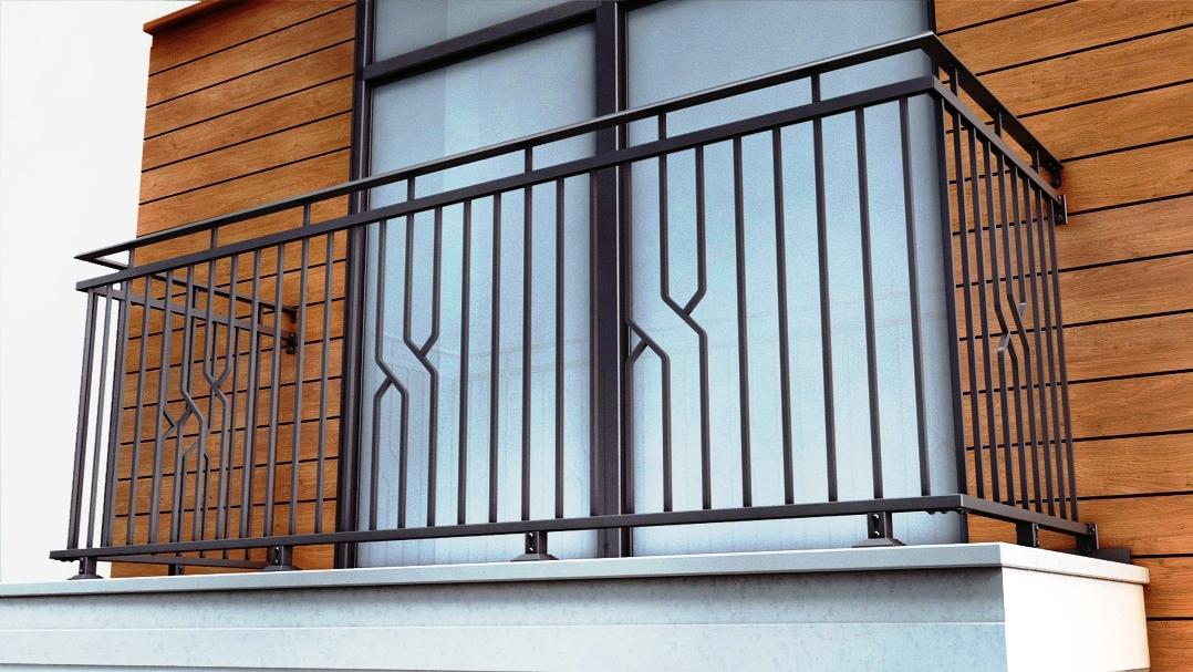 Ограждения балконов картинки