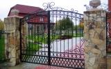 фото: кованые ворота 17