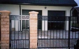 фото: кованые ворота 6