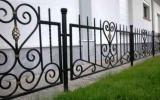 фото: забор кованый 6