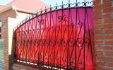 фото: забор кованый 10