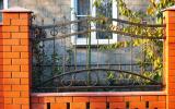 фото: забор кованый 11