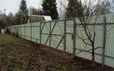 фото: забор из металлопрофиля 3