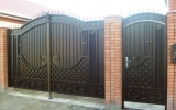 фото: кованые ворота 1