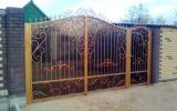 фото: кованые ворота 18