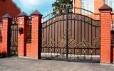 фото: кованые ворота 8