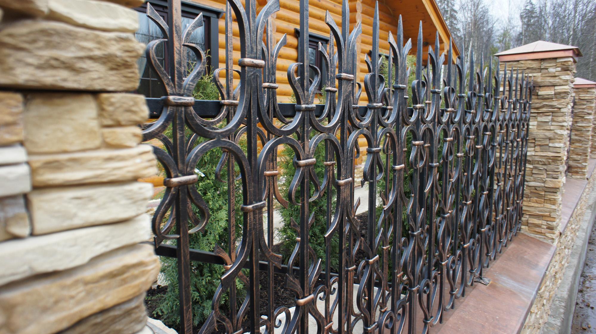 Ограда своими руками ютуб